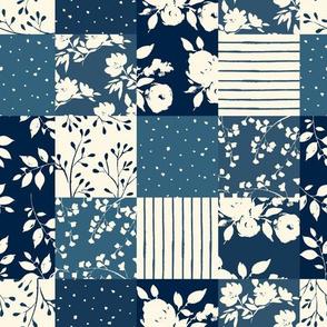 Cotswold Floral ( Blue )