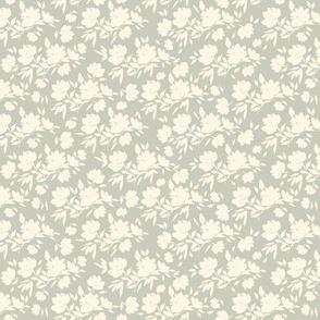 """Cotswold Flowers - soft pale blue (6"""")"""