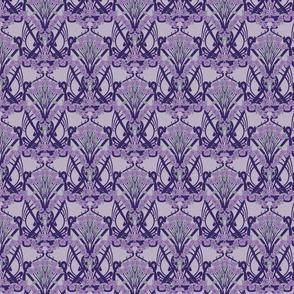 Art Nouveau Violets--Smaller