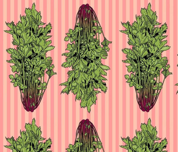 Rococo Celery Appleblossom