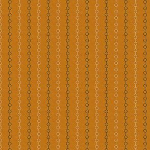 navy and tan line dots on ochre