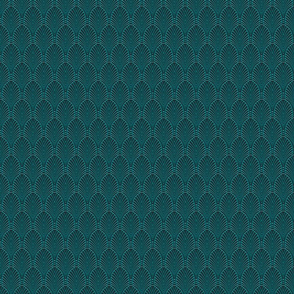 art deco fans teal small 2