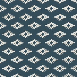 Diamond (medium)   Nocturne Blue - Inverse  (2021 Quiet Haven Palette Coordinate)