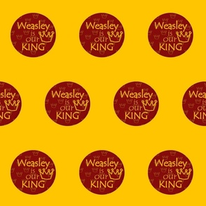 Weasley is our king on yellow