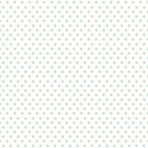 Hand Drawn Polkadot (small)   Wishful Green  (2021 Subtle Focus Palette Coordinate)