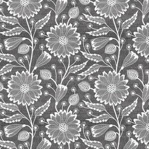 Dark Gray flowers