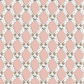 pink lemons and polka dots