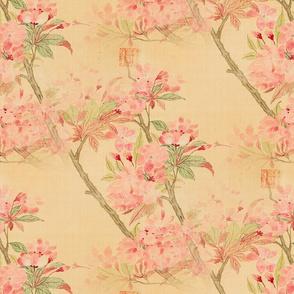 Cherry Blossoms Kanji