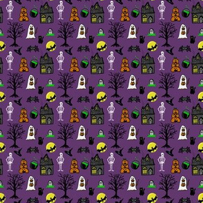 Halloween Pattern Small