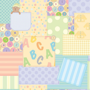 Baby Buttons Patchwork_Tina Cash_Walsh
