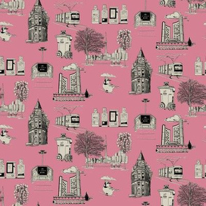 Toronto Toille Pink