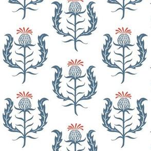 thistle - dull blue