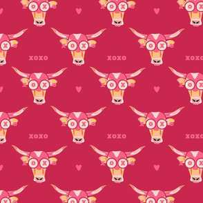 Ox Love red