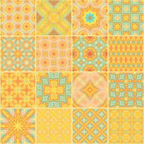 Sunny patchwork