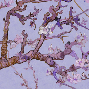 Almond Blossoms Mural ~ Van Gogh ~Twilight ~ Jumbo