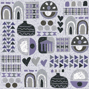 Classica Patchwork Grey Purble