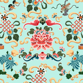 """Chinoiserie """"Joie de Chinois"""" on Mint"""