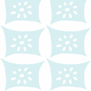 Dotty Pillow with Dots (lt. aqua)