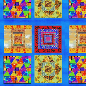 Lg. Grandma's Quilt by DulciArt, LLC