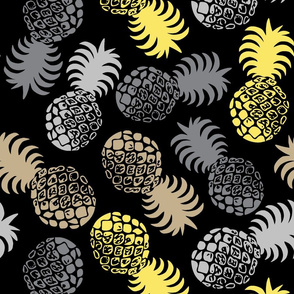 Hawaiian TropicalPineapple -  Ultimate Gray and Illuminating Yellow