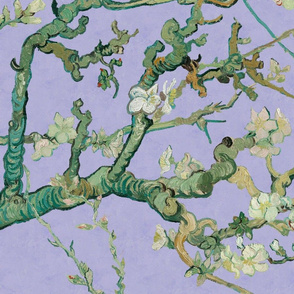 Almond Blossoms ~ Van Gogh ~ Original Branches on Twilight