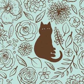 Feline Floral