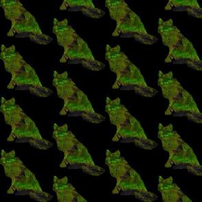 Arctic Fox - Emerald
