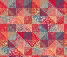 Warm and Cozy Patchwork