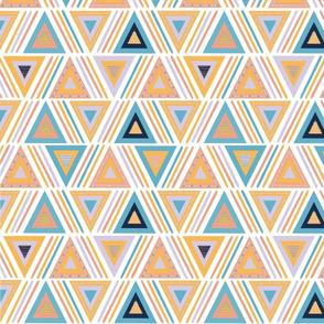 Three edged polygons