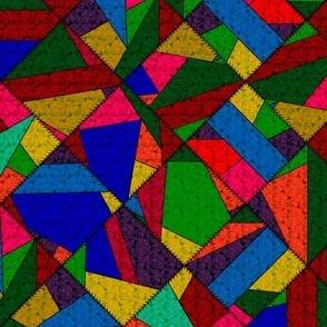 Crazy Quilt Patchwork