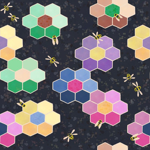 Granny's Busy Bee Quilt