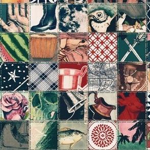Illustrated Bingo Squares