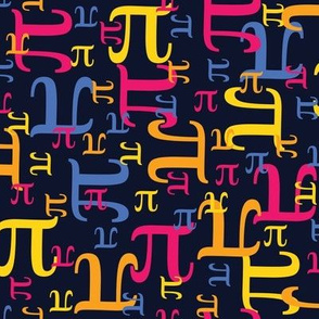 Pieces of Pi (Navy)