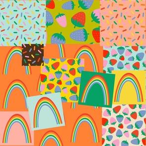 happy little patchwork