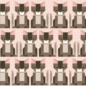patchwork kitten - small