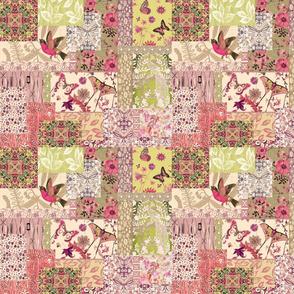 patchwork bird garden sm