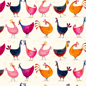 Chicken-in-line