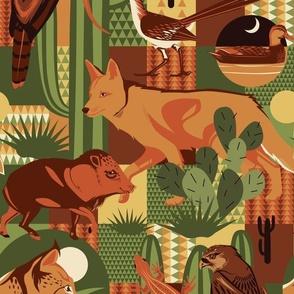 Desert Animals Patchwork