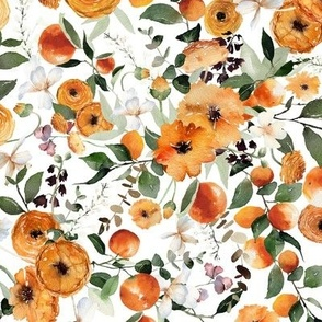 Orange Crush Florals