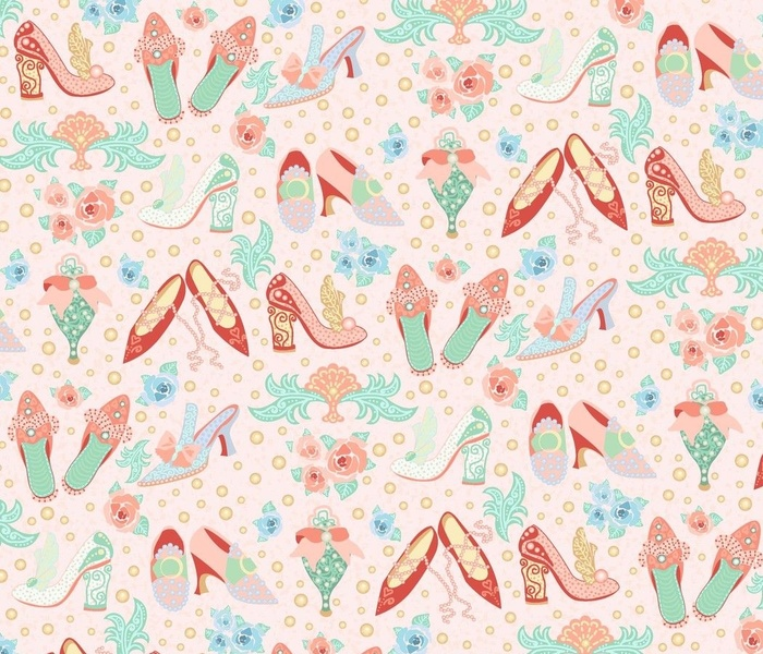 Rococo shoes Pink Large scale