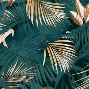 Moody Tropics Golden Glamour