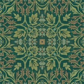 William Morris Tribute Green