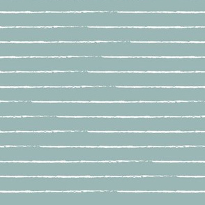 The minimalist basic Paris breton stripes horizontal boho trend lines sage green pastel