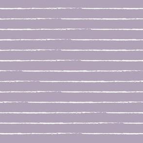 The minimalist basic Paris breton stripes horizontal boho trend lines lilac purple pastel