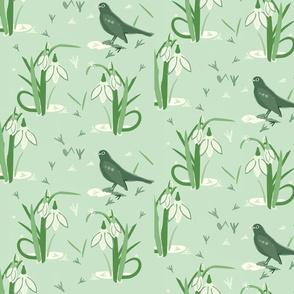 Betty Blackbird /Jade Green