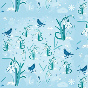 Betty Blackbird / Blue