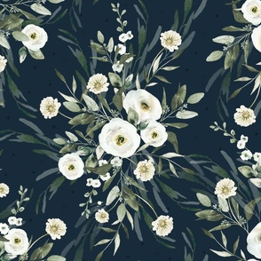 Soft Florals - pinks
