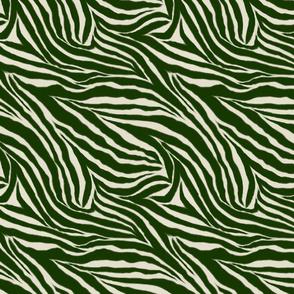 Forest Green Zebra