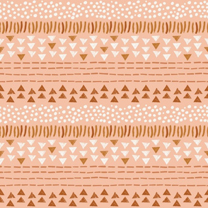 Boho Pattern in Pink