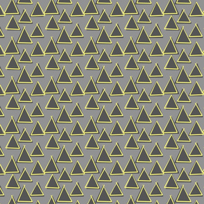 Grey and lemon triangles